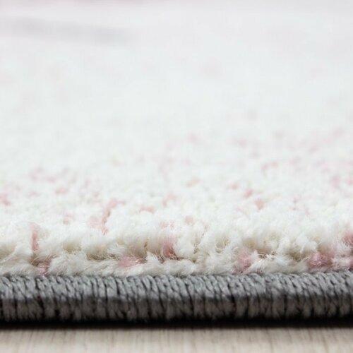 Vopi Kusový detský koberec Kids 560 pink, 120 x 170 cm