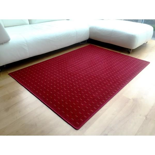 Vopi Kusový koberec Valencia červená, 80 x 150 cm