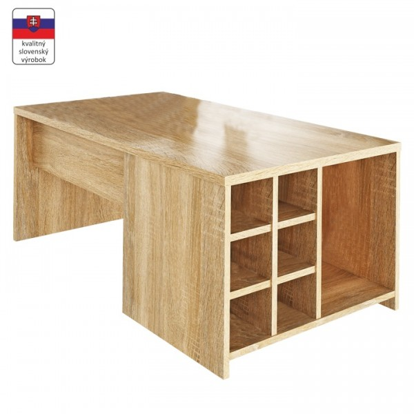 Konferenčný stolík, dub sonoma, DARAH