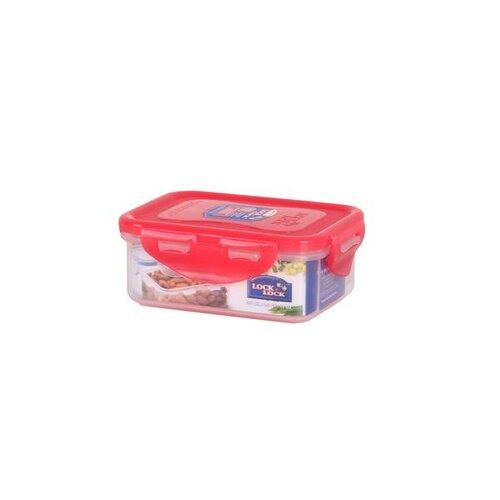 Lock & Lock Plastová dóza na potraviny 350 ml, ružová