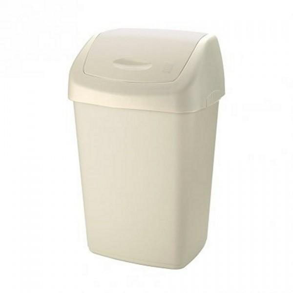 Tontarelli Odpadkový kôš SWING AURORA 9 l, biela