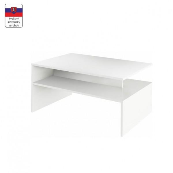 TEMPO KONDELA Konferenčný stolík, biela,  DAMOLI