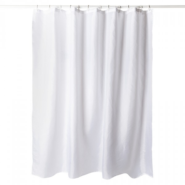 Koopman Sprchový záves biela, 180 x 180 cm