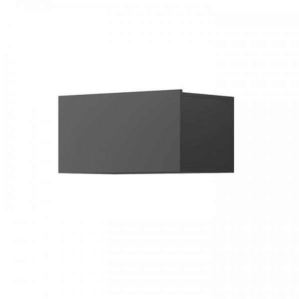 TEMPO KONDELA Závesná skrinka, grafit, Spring ED60