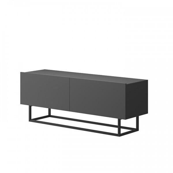 TEMPO KONDELA RTV stolík bez podstavy, grafit, Spring ERTV120