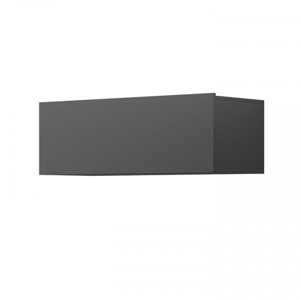 TEMPO KONDELA Závesná skrinka, grafit, Spring ED90