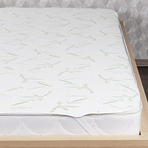 4home Bamboo Nepriepustný chránič matraca s gumou, 200 x 200 cm