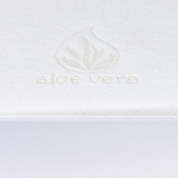 4home Aloe Vera Nepriepustný chránič matraca s lemom, 160 x 200 cm