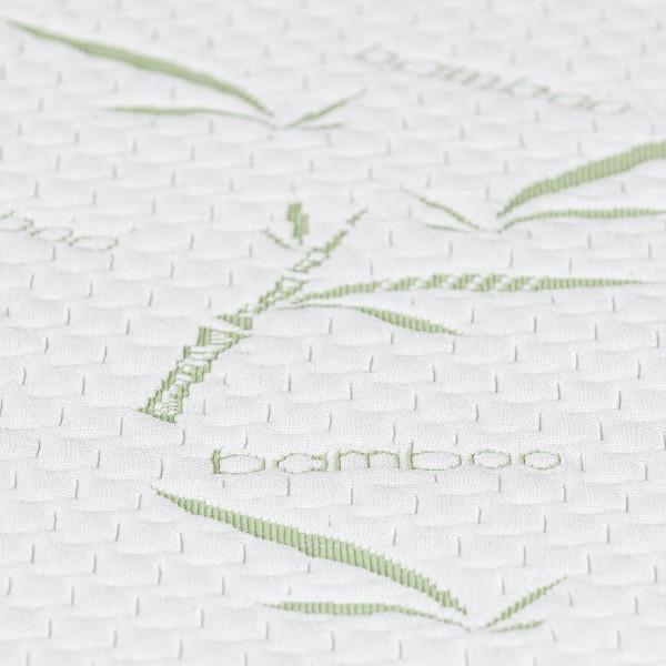 4home Bamboo Nepriepustný chránič matraca s gumou, 160 x 200 cm