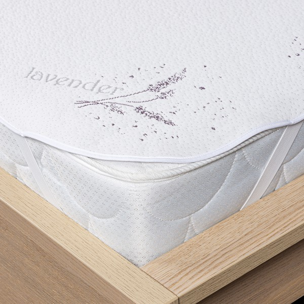 4Home Lavender Chránič matraca s gumou, 140 x 200 cm