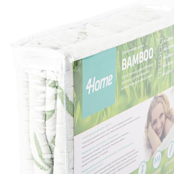 4Home Bamboo Chránič matraca s lemom, 60 x 120 cm