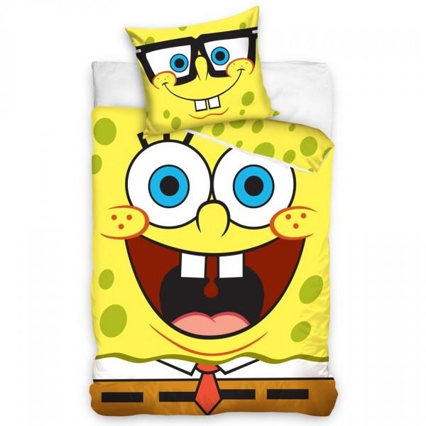 Carbotex Detské obliečky SpongeBob, 140x200 70x80