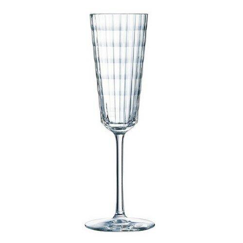 4-dielna sada pohárov na šampanské Iroko, 170 ml