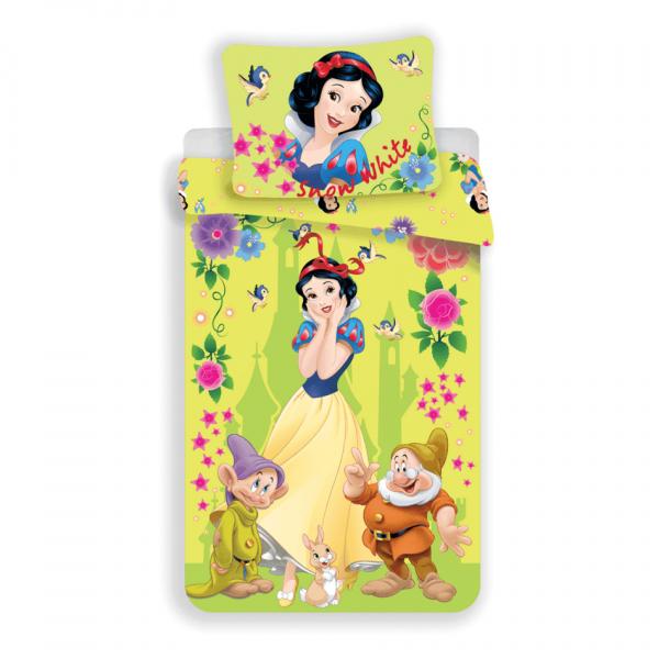 Detské bavlnené obliečky Snehulienka Snow White, , 140 x 200 cm, 70 x 90 cm