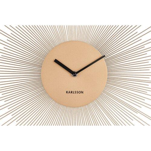 Karlsson 5817GD Dizajnové nástenné hodiny pr. 45 cm