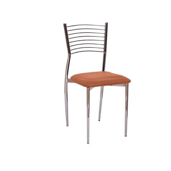 TEMPO KONDELA Jedálenská stolička, hnedá camel, ZAIRA