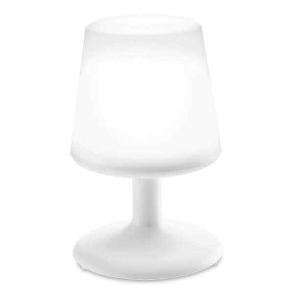 Koziol Stolná lampa Light to go, biela