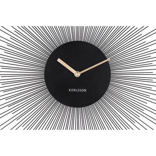Karlsson 5817BK Dizajnové nástenné hodiny pr. 45 cm