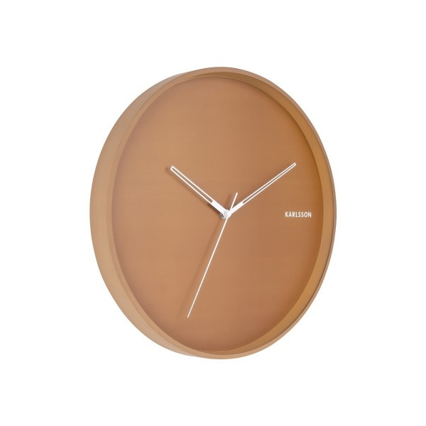 Karlsson 5807BR Dizajnové nástenné hodiny pr. 40 cm