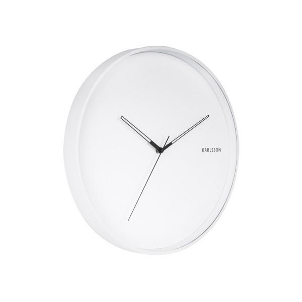 Karlsson 5807WH Dizajnové nástenné hodiny pr. 40 cm
