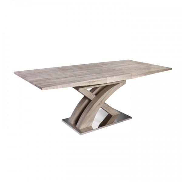 Jedálenský stôl, dub sonoma, BONET TYP 2