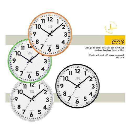 Lowell 00720B Nástenné hodiny pr. 30 cm