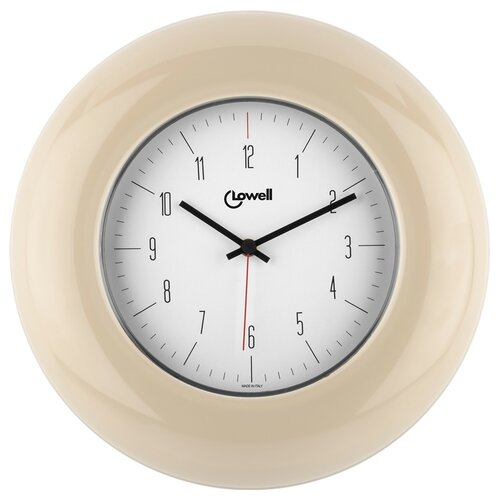 Lowell 03300C Dizajnové nástenné hodiny pr. 33 cm