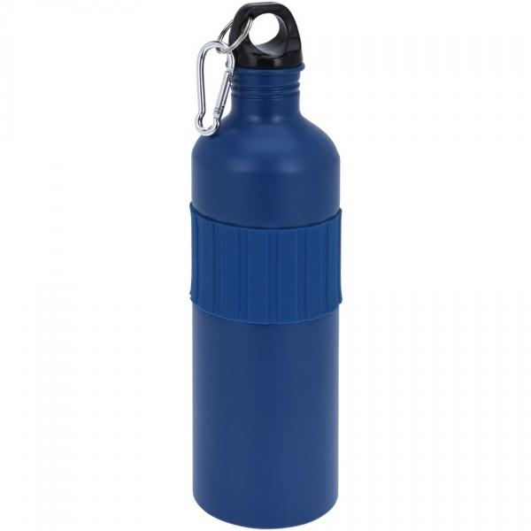 Koopman Športová hliníková fľaša s uzáverom 750 ml, navy