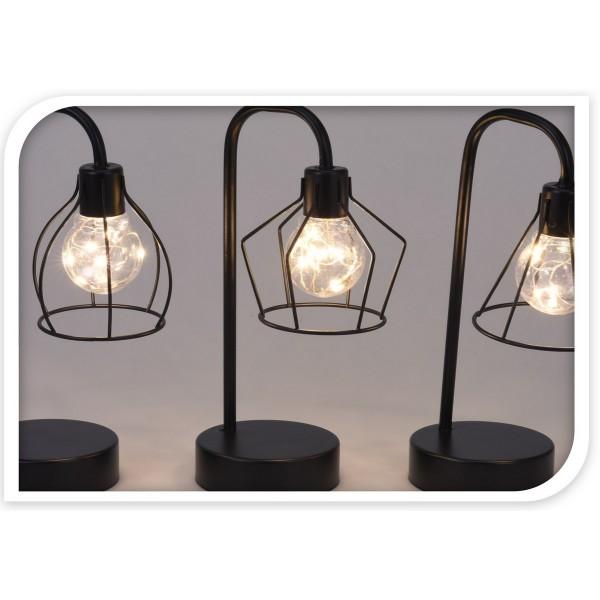 Koopman Stolná LED lampa Puente 8 LED, 25 cm