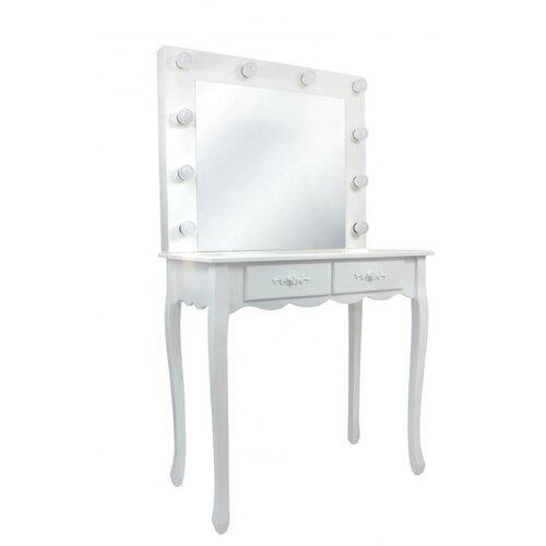 Aldo Kozmetický stolík so zrkadlom Vintage, 140 x 40 x 80 cm