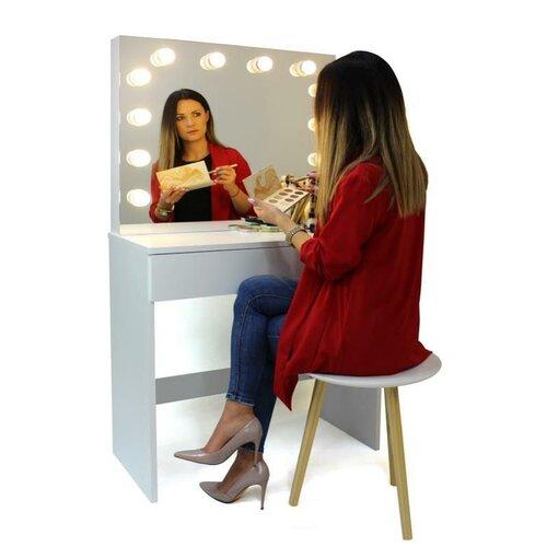 Aldo Kozmetický stolík so zrkadlom Gabina, 140 x 40 x 80 cm