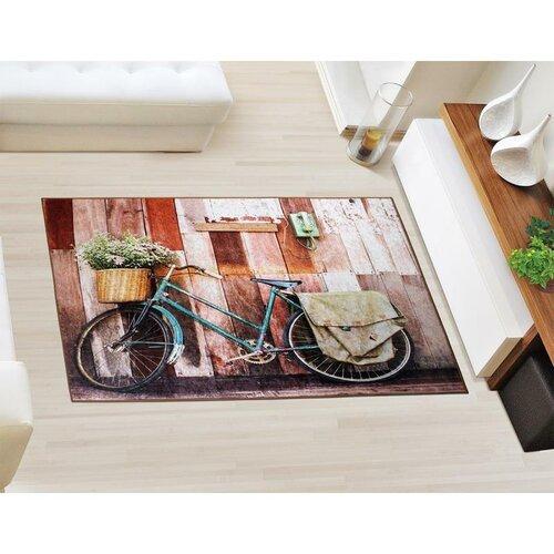 Bellatex Koberec 3D tlač Bicykel, 80 x 120 cm