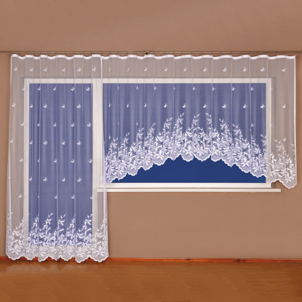 4home Záclona Angelika, 350 x 175 cm + 200 x 250 cm