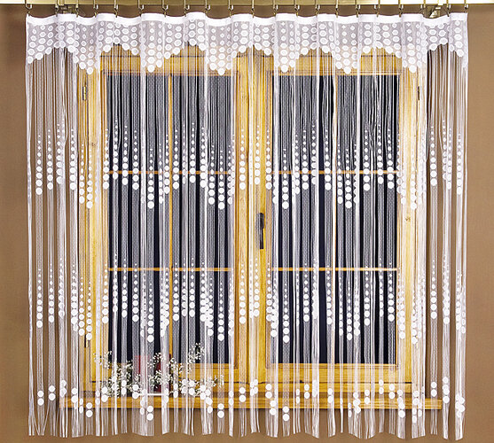 4Home povrázková záclona EVITA, 90 x 180 cm