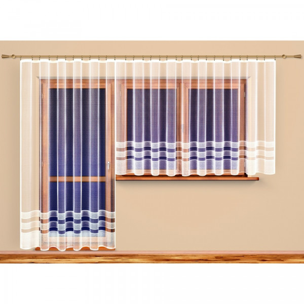 4Home Záclona Olívie, 300 x 250 cm, 300 x 250 cm