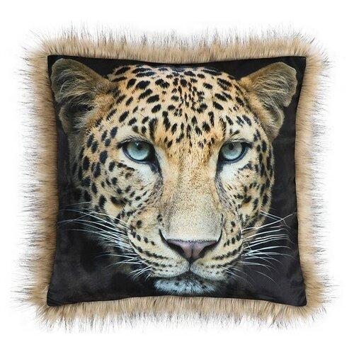 Bellatex Vankúšik SAFARI Leopard, 45 x 45 cm