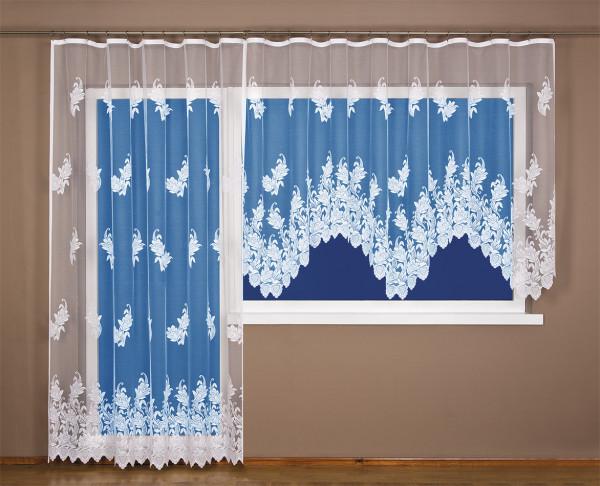 4Home záclona Renata, 300 x 150 cm + 200 x 250 cm