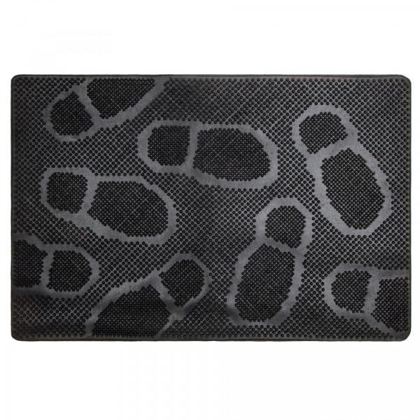 Trade Concept Gumová rohožka Foot Steps, 40 x 60 cm