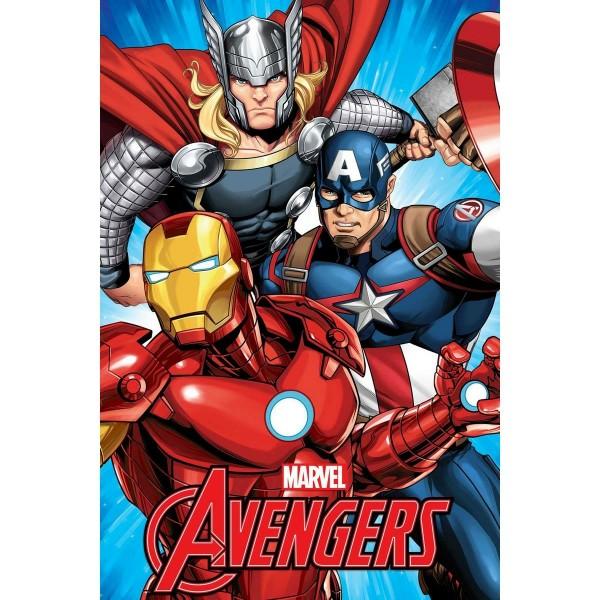 Jerry Fabrics Deka Avengers, 100 x 150 cm
