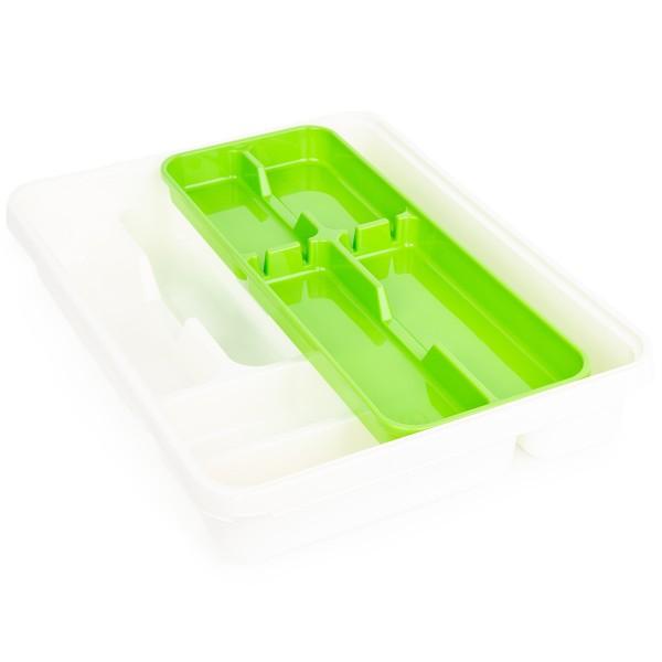 Tontarelli 2-dielny príborník Mixy, krémová/zelená