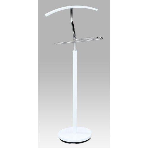 Autronic Nemý sluha Cedric chróm / biela, 45 x 106 cm