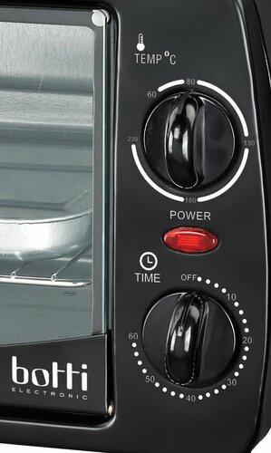 Botti JK-1003 elektrická rúra, čierna,